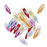GOP Store 50Pcs Multicolor Plastic Clips Quilt