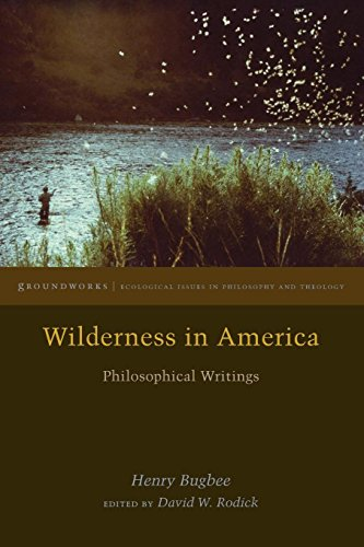 Wilderness in America: Philosophical Writings (Groundworks: Ecological Issues in Philosophy and Theology)
