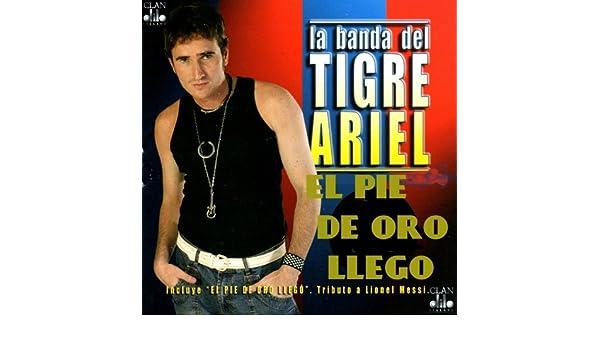 El Pie de Oro Llego (La Cancion de Leonel Messi) de La Banda del ...