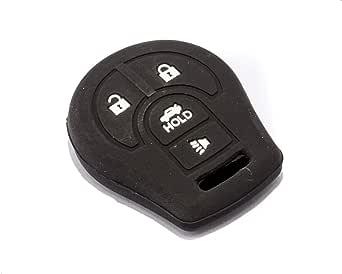 Silicone Car Key Cover, Black
