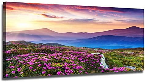 Ardemy Mountain Landscape Painting Wildflowers product image