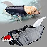 MOO&NOO Dog Life Jacket Shark Dog Life Vest