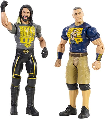 WWE John Cena & Seth Rollins Action Figure (2 Pack) by WWE