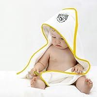 FC JUVENTUS - Albornoz Triangular para bebé, Toalla