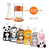 Baby : Squooshi Filling Station + Large 6 Pack | 6 Pouches