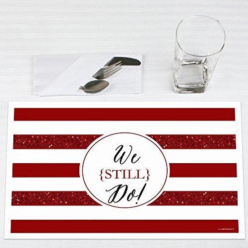 40th Anniversary Set (We Still Do - 40th Wedding Anniversary - Party Placemats - Set of)