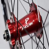 LTGJJ Bicycle Wheelset Bicycle Wheels, 29/26 / 27.5 Inch Bicycle Wheel (Front + Rear) Double Walled Aluminum Alloy MTB Rim Fast Release Disc Brake 32H 7-11 Speed Cassette