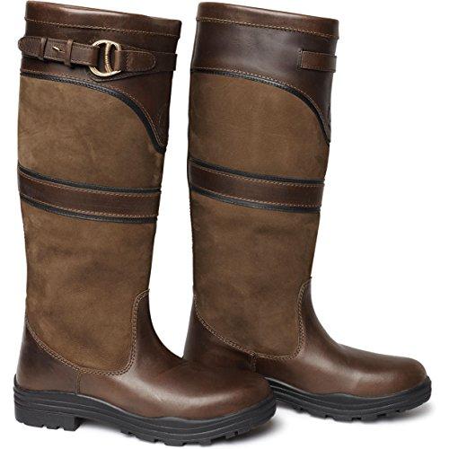 Mountain Horse Devonshire Waterproof Tall Yard Boot- Dark Brown or Navy Dark Brown