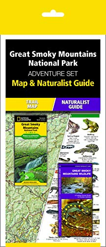 Great Smoky Mountains National Park Adventure Set: Trail Map & Wildlife Guide
