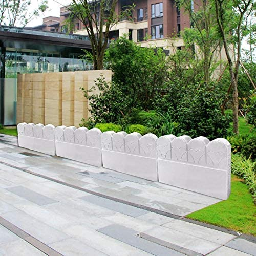 Moldes de hormigón para valla de jardín, 2 unidades, molde de cemento para valla de jardín, cemento, ladrillo, hormigón, molde de plástico para pavimentar: Amazon.es: Bricolaje y herramientas