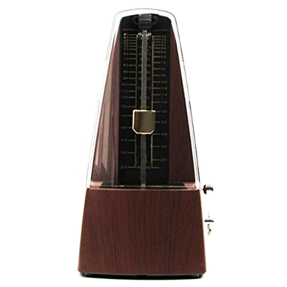 Pyramid Mechanical Metronome for Piano,Track Tempo and Beat, Metronome for Guitar, Drums, Bass with Loud Bell Ring, Tempo Range 40~208bpm 10764328