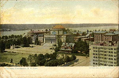Columbia University New York, New York Original Vintage Postcard