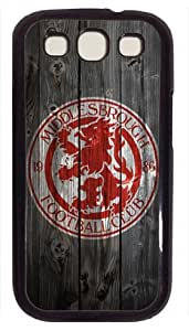 Middlesborough FC wood background Samsung Galaxy S3 I9300 Case, Black Samsung Galaxy S3 I9300 case, Cover Case for Samsung Galaxy S3 I9300