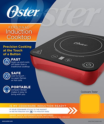 Induction Cooking Temperature Settings ~ Oster personal induction cooker burner with heat