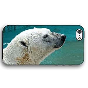 Polar bear in water For LG G3 Case Cover Armor Phone Case