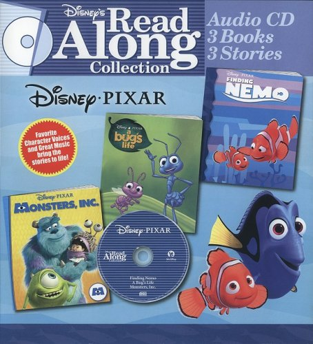 Disney Pixar: Finding Nemo/A Bug's Life/Monsters, Inc. (Disney's Read Along Collection) by Brand: Toybox Innovations