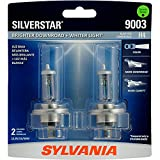 Best Sylvania Night Lights - SYLVANIA 9003 (also fits H4) SilverStar High Performance Review