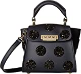 ZAC Zac Posen Women's Swarovski Eartha Iconic Top Mini Handle with Crystal Navy One Size