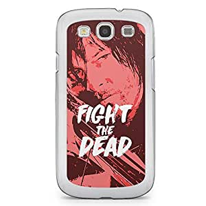 Samsung Galaxy S3 Transparent Edge Case The Walking Dead Fight The Dead
