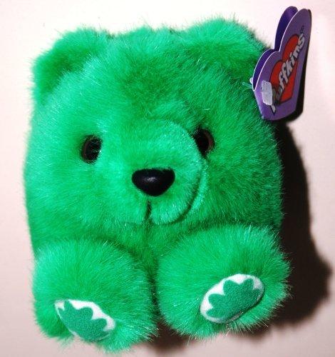 Puffkins, Patrick the Green Saint Patrick Irish Bear (1 Each)