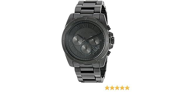 49eacca2f696 Michael Kors Men s MK8482 - Brecken Black  Amazon.ca  Watches