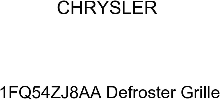 Genuine Chrysler 1FQ54ZJ8AA Defroster Grille