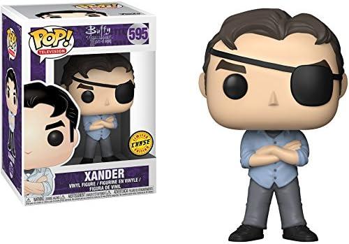 Funko Xander (Chase Edition): Buffy The Vampire Slayer x POP! TV Vinyl Figure & 1 POP! Compatible PET Plastic Graphical Protector Bundle [#595 / 25197 - B]: Amazon.es: Juguetes y juegos