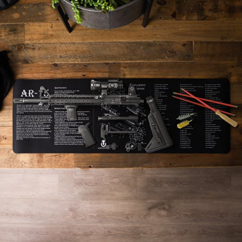 Gun Cleaning Mat - Rifle Maintenance Gunsmithing Tools - by UsefulThingy