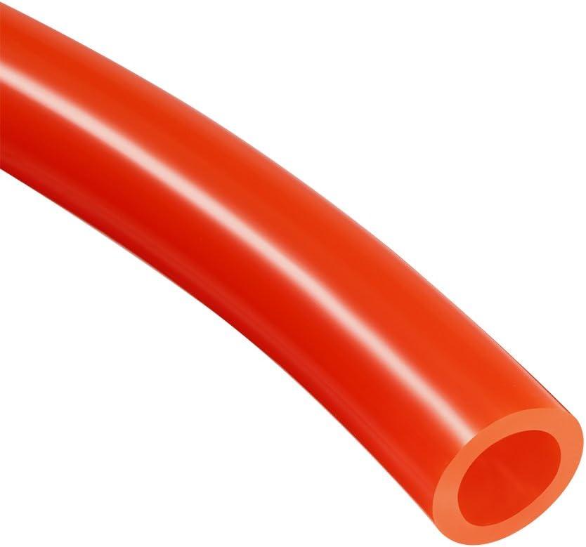 4mm X 2.5mm Manguera De Aire Neumático Tubo Tubo 5 Metro de PU 16.4ft Rojo