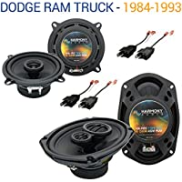 Dodge Ram Truck 1984-1993 Factory Speaker Upgrade Harmony R69 R5 Package New