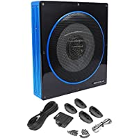 Jeep Wrangler 1987-2006 10 800w Slim Low Profile Powered Car Subwoofer Sub