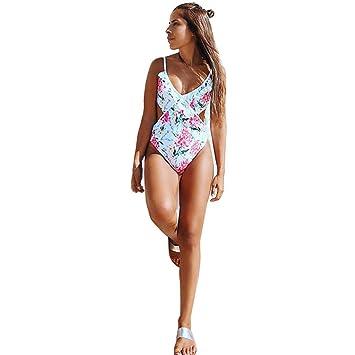 1a2002f40edf9b Amazon.com  One Piece Beach Bathing Suit Womens Swimwear Bikini ...