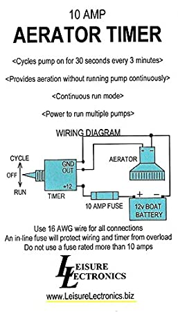 leisure lectronics 3 position livewell timer aerator pump 12v switch for boat  live well timer wiring diagram for switch #9