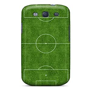 Hot Snap-on Football Field Hard Cover Case/ Protective Case For Galaxy S3