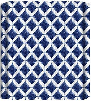 Anney Cortina de Ducha Textil Medallion, 180 cm x 180 cm, mampara ...