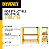 DEWALT 4-Foot Tall, 3 Shelf Steel Wire Deck