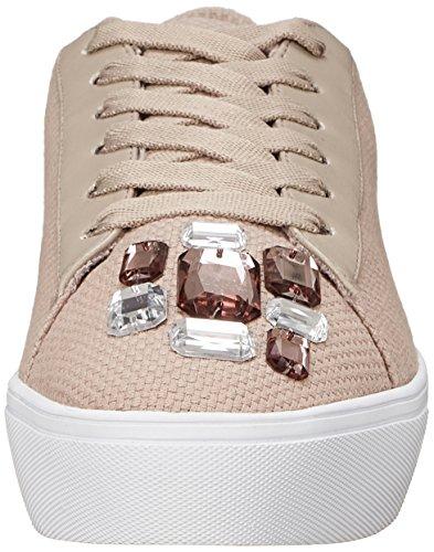Neuf Ouest Femmes Homerun Tissu Sneaker Mode Gris / Multi
