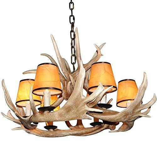 deer horn ceiling fans - 7