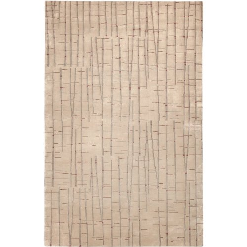 Surya Caramel (Julie Cohn by Surya Shibui SH-7402 Contemporary Hand Knotted 100% Semi-Worsted New Zealand Wool Caramel 9' x 13' Abstract Area)