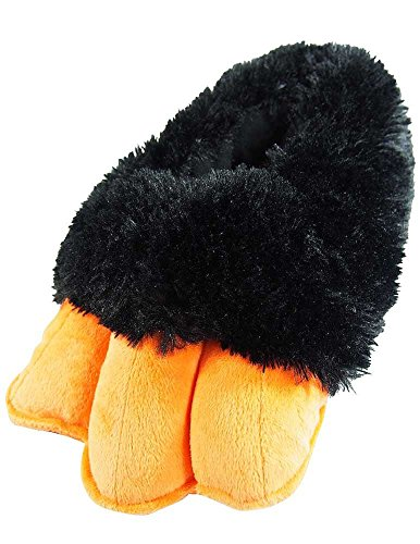 - Wishpets Stuffed Animal Slippers - Soft Plush Toy Slippers for Kids and Adults - Penguin Slippers