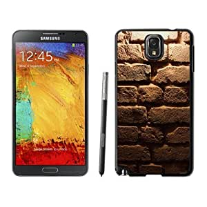 NEW Custom Designed For SamSung Note 3 Case Cover Phone With Old Brick Wall Texture_Black Phone