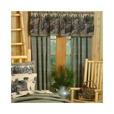 Cabela's The Bears Cotton/Polyester Drape Panel Pair