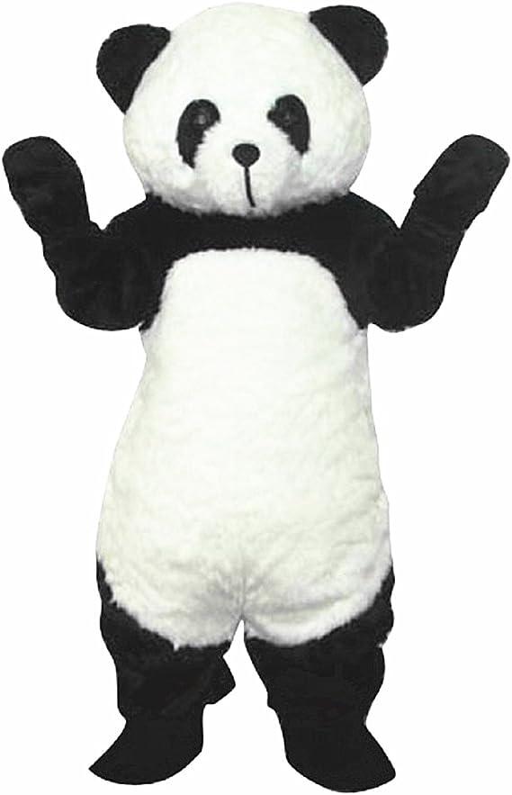 Largo de peluche mascota Oso Panda mascota disfraz Navidad traje ...