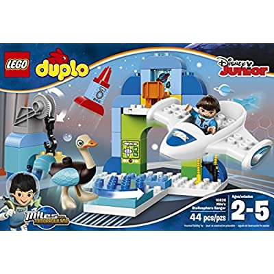 LEGO DUPLO Disney Junior Miles From Tomorrowland Miles' Stellosphere Hangar (10826): Toys & Games