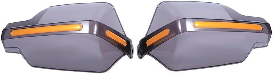 Universal 1 Pair Motorbike Motorcycle Handguards Protectors Pattern Hand Guards Black