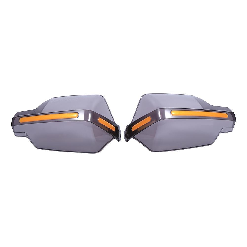 Protectores de manillar Akozon 1 par Guantes de manillar universales protectores de mano izquierda y derecha con 1 tornillo de fijaci/ón Accesorios Claro