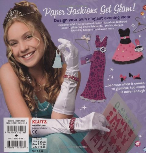 Klutz Paper Fashions Fancy by Klutz (Image #1)