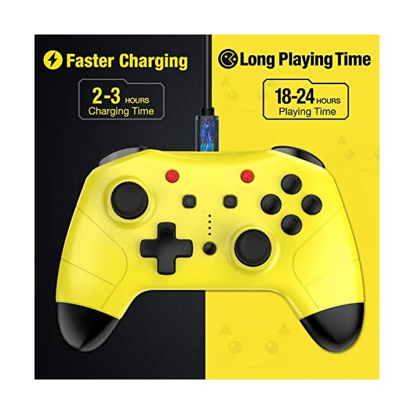 Switch Controller for Nintendo Switch/Switch Lite, Switch Pro Controller with Turbo Function Switch Wireless Controller… 4