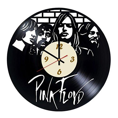 50 Unique Small Kitchen Ideas That You Ve Never Seen: Amazon.com: La Bella Casa Pink Floyd Band Vinyl Wall Clock