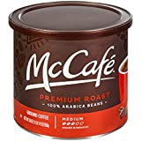 McCaf Premium Roast Ground Coffee, 30 oz Canister